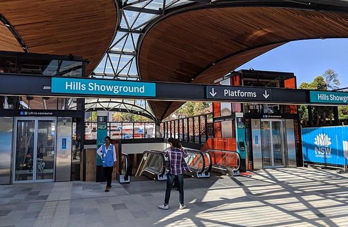 Sydney. Ruszyło metro. W  pełni autonomiczne [zdjęcia]