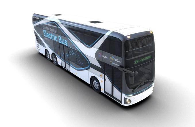 Elektryczny double-decker od Hyundaia