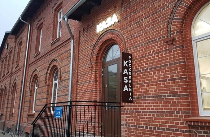 Wołów wyremontował dworzec kolejowy. W podziemiach jest kręgielnia