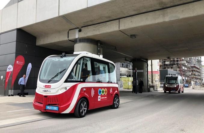 """Wiedeń uruchamia linię autonomicznego autobusu. Na """"ostatnią milę"""""""
