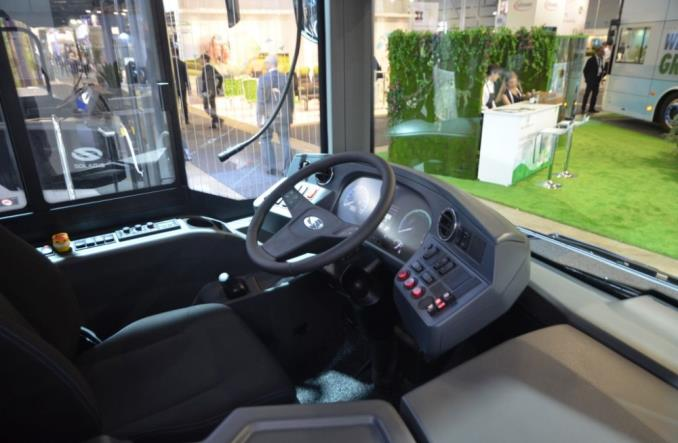 Solaris zaprezentował w Sztokholmie swój autobus wodorowy [zdjęcia]