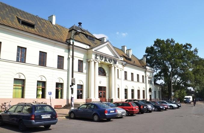 PKP SA przygotowują się do przebudowy dworca w Łukowie