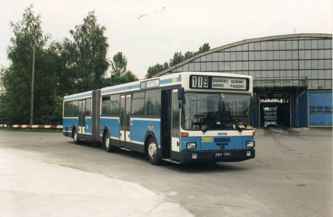 Kraków. Historyczny autobus MAN wyjedzie na linię A