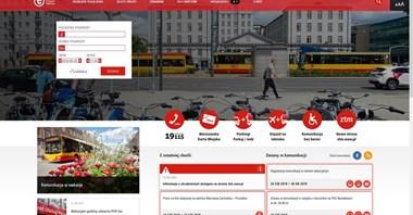 ZTM Warszawa i WTP z nowymi stronami internetowymi