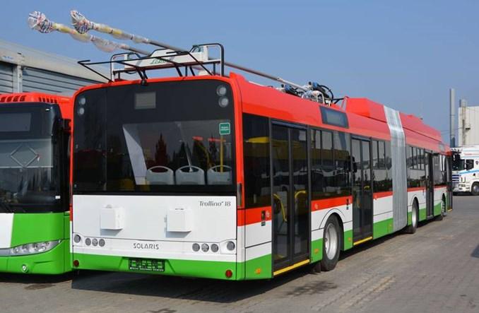 Lublin. Przetargi na przegubowe trolejbusy dla Solarisa