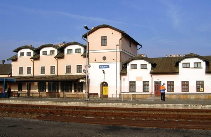 PKP SA odświeżą dworzec w Krośnie z wieżą ciśnień