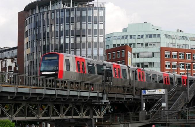 Alstom z Bombardierem dostarczą dodatkowe pociągi metra do Hamburga