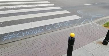 Ruchy miejskie: Wyższe mandaty i pierwszeństwo pieszych, bo #ChodziOŻycie