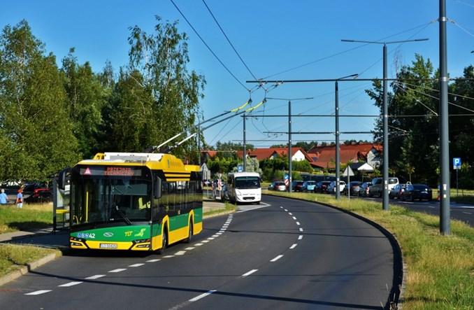 Tychy: Nowa trasa trolejbusowa na Paprocanach niemal gotowa