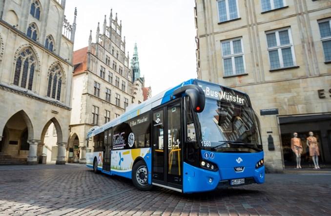 Munster zamawia elektryczne autobusy od VDL