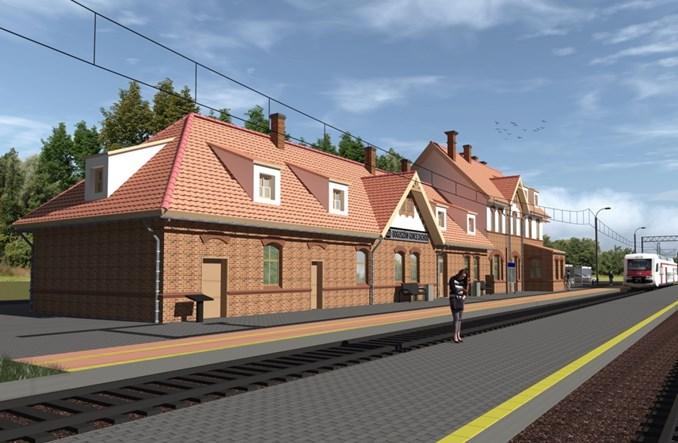 Dworzec Boguszów Gorce Zachód do przebudowy (wizualizacje)