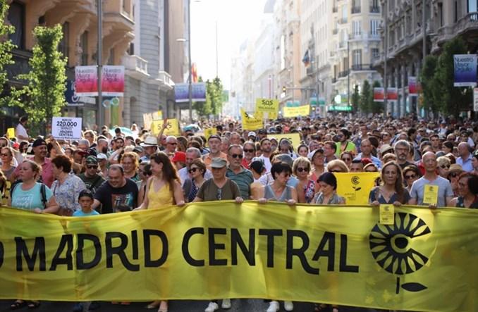 Madryt. Strefa zamknięta dla aut wraca! Sąd zmienił decyzję miasta