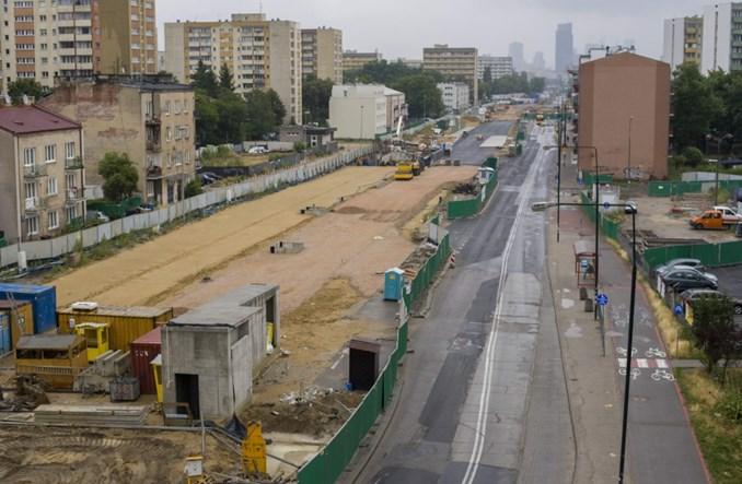 Metro na Woli: Sufit na Księcia Janusza zazielenia się