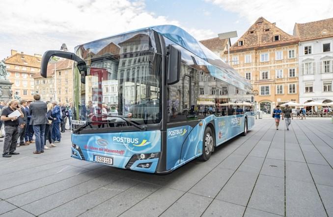 Graz. Solaris Urbino 12 Hydrogen testowany w Austrii