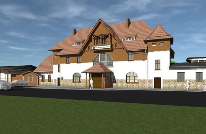 Dworzec Szklarska Poręba Górna do przebudowy. Jest przetarg (wizualizacje)
