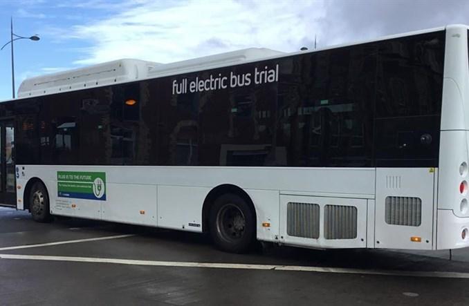 Pierwszy autobus elektryczny w Walii. Przyjechał z Chin
