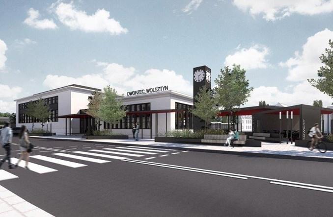 Wolsztyn rozpoczął przebudowę dworca kolejowego (wizualizacje i zdjęcia)