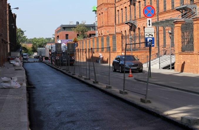 Łódź: Przebudowa Ogrodowej zgodnie z planem