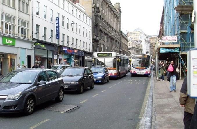 Glasgow. Dwie centralne ulice będą buspasami. W całości