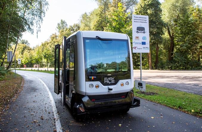 Gdańsk rusza z testami autonomicznego busika przy ZOO