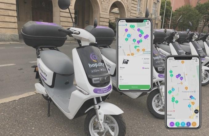 Elektryczne skutery Hop.City wjeżdżają do Vooom