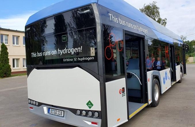 Poznań. Solaris zaprezentował autobus wodorowy