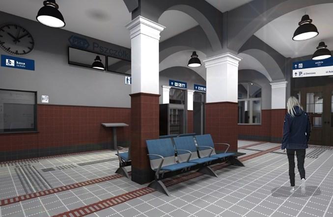 Dworzec w Pszczółkach do przebudowy. Sześć ofert [wizualizacje]