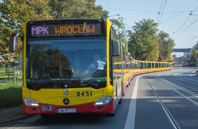 Wrocław. Do miasta przyjeżdża 50 Mercedesów Citaro dla MPK