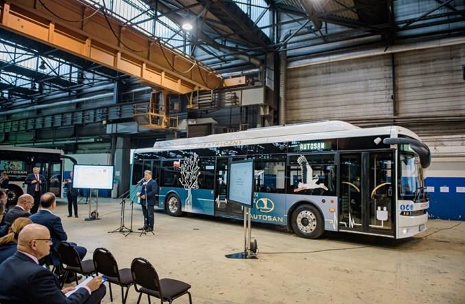 Autosan pochwalił się swoim pierwszym autobusem elektrycznym