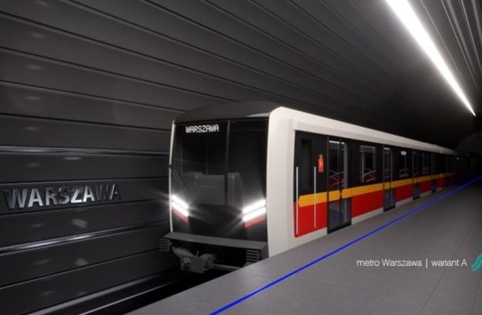 Skoda pokazuje koncepcję pociągu metra dla Warszawy