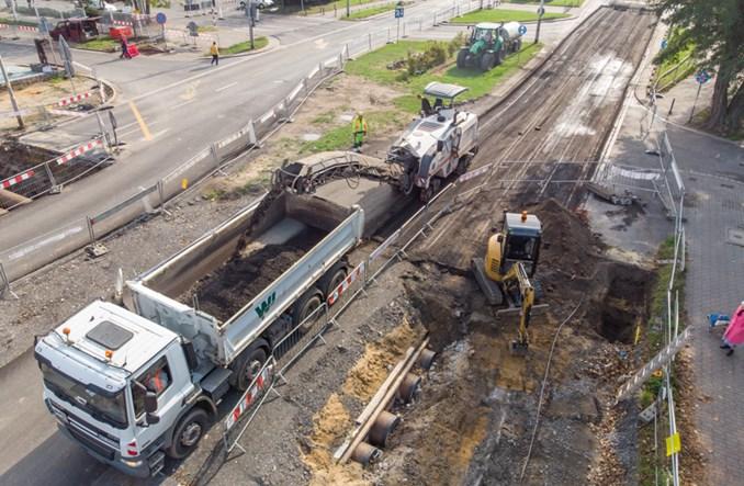 Wrocław: Co się dzieje na budowie tramwaju przez Popowice?