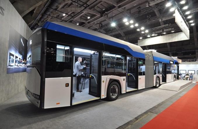 Solaris na Busworld 2019 w 100% elektryczny [zdjęcia]