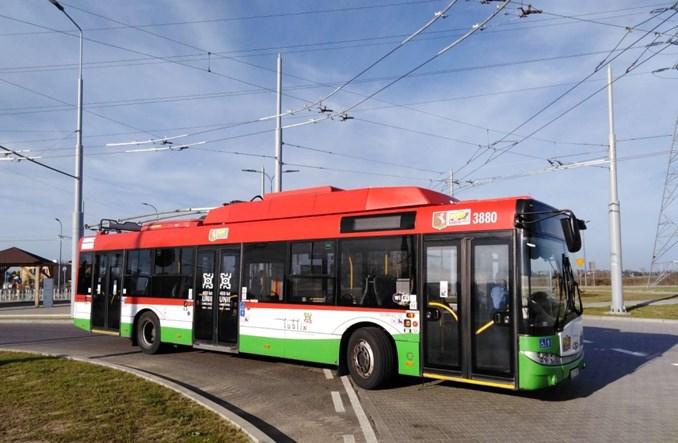 Lublin. Trolejbusy już na nowej trasie do pętli Choiny