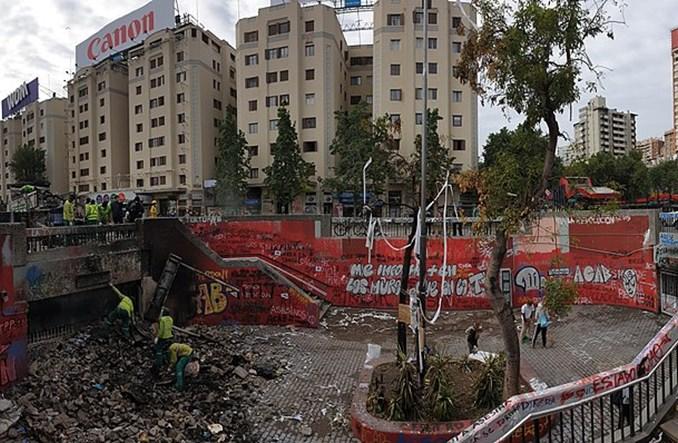 Chile. Dlaczego mieszkańcy Santiago spalili metro