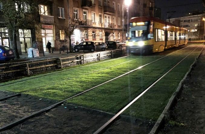 Tramwaje Warszawskie przetestują zielone torowisko na tłuczniu