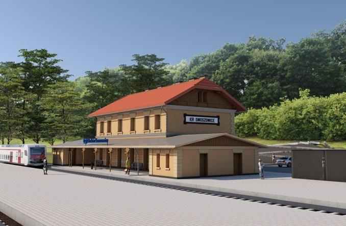 Kto przebuduje dworzec Kraków Swoszowice?