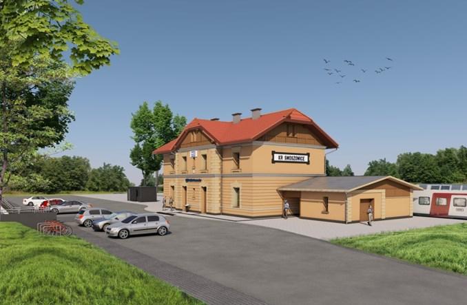 Rusza przebudowa dworca Kraków Swoszowice. Jest umowa [wizualizacje]