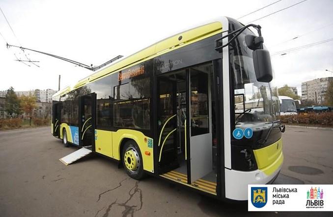 Lwów: Elektron dostarczył 10 nowych trolejbusów