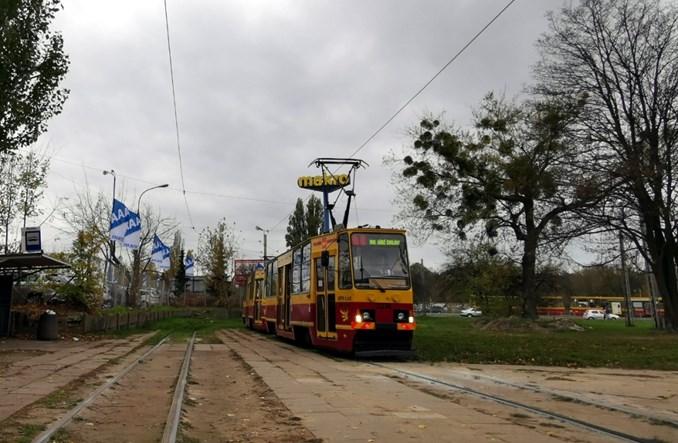 Łódź zdejmie tramwajową sieć trakcyjną z Dołów i Kozin