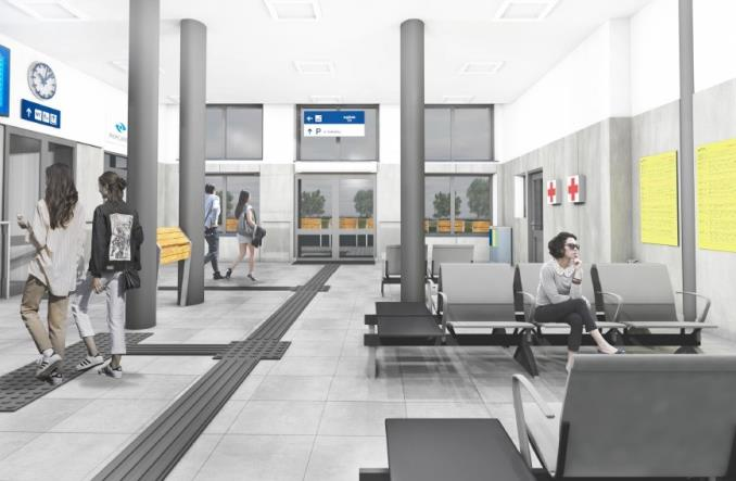 Dworzec Kuźnica Białostocka do remontu [wizualizacje]