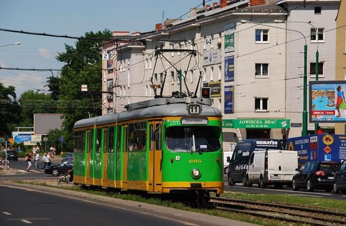 """Poznań pożegnał tramwaje """"Helmuty"""""""