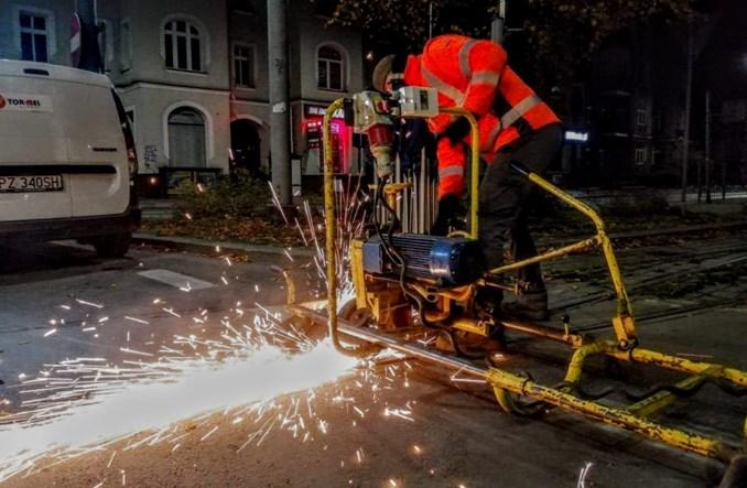 Tramwaje Szczecińskie zakończyły regenerację zwrotnic