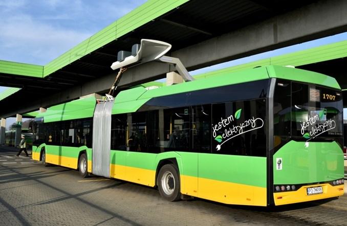 Elektryczne Solarisy debiutują w Poznaniu. Pojazdów elektrycznych będzie więcej