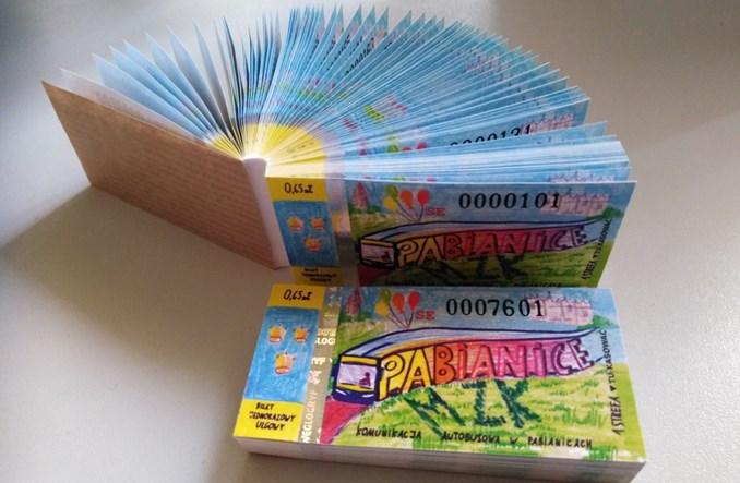 """Pabianice: Nietypowe """"kolorowe bilety"""" już w kioskach"""