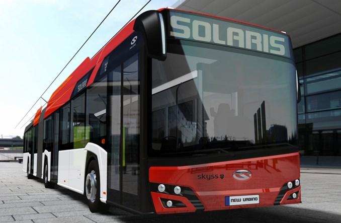 Trolejbusy Solarisa zadebiutują w Norwegii
