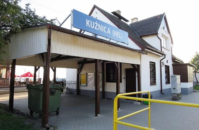 PKP SA szykują przebudowę dworca w Kuźnicy na Helu