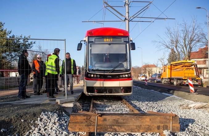 Gdańsk: Tramwaje wracają na Stogi – na razie do Zimnej