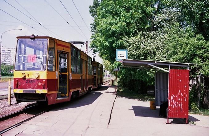 Łódź: Kolejna trasa tramwajowa fizycznie nieprzejezdna – na Śląską