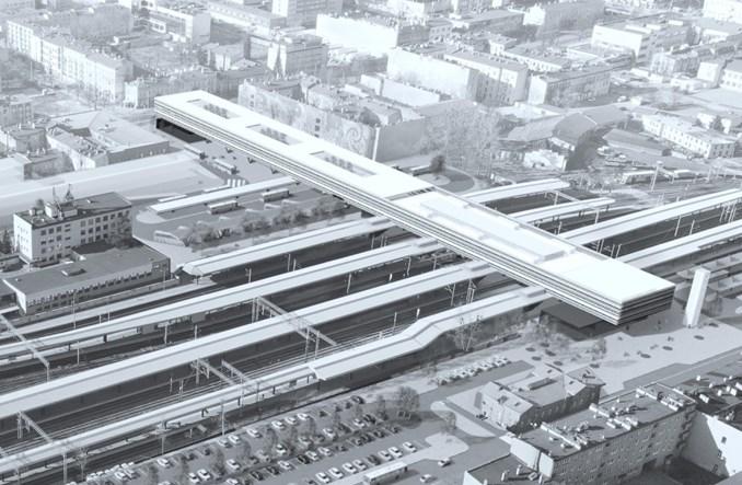 Nowy dworzec Częstochowa Główna: Start prac w poł. 2021 r.