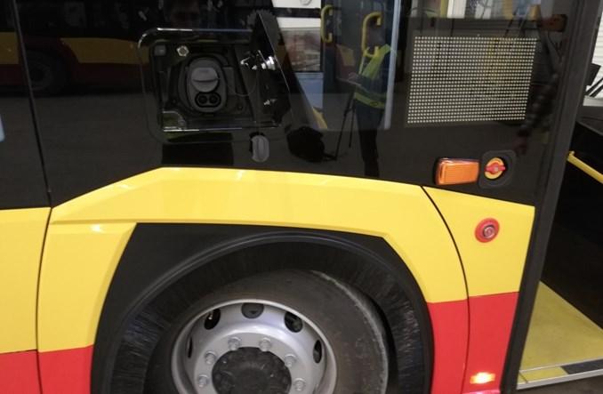 Solaris pokazał pierwszy przegubowy elektrobus dla Warszawy